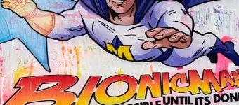 Bionicman-40x40cm