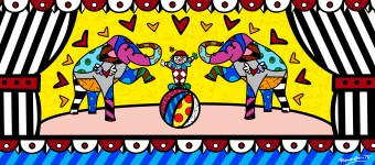 Romero Britto Magic