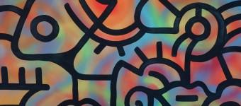 Rainbow in the City 24x30