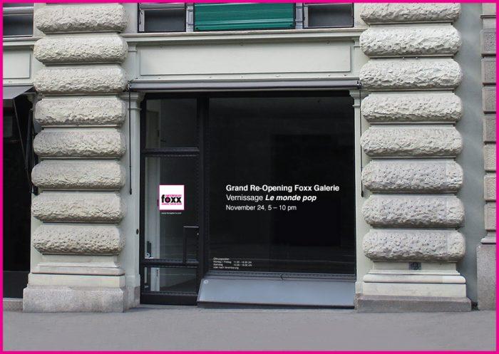 Ab 16. November 2016 hat Foxx Galerie ihr neues Domizil an der Rämistrasse 33 in 8001 Zürich.