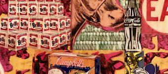 Vinc Original Pop Vintage Collage