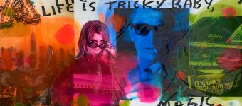 Life is tricky 100 x 100 cm