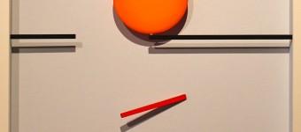 Punkt und Linie 8, 65 x 65 cm