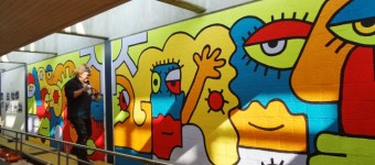 Mural paintings for private clients and institutions possible
