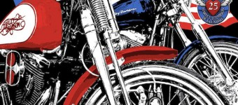 Vinc Love Ride 25th Anniversary, 50 x 70 cm, 2008
