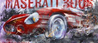 Bernd Luz, Maserati 300S